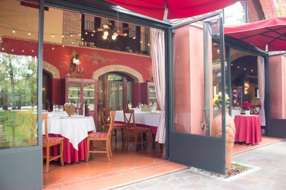 esterno e interno ristorante_bosco mardigliana